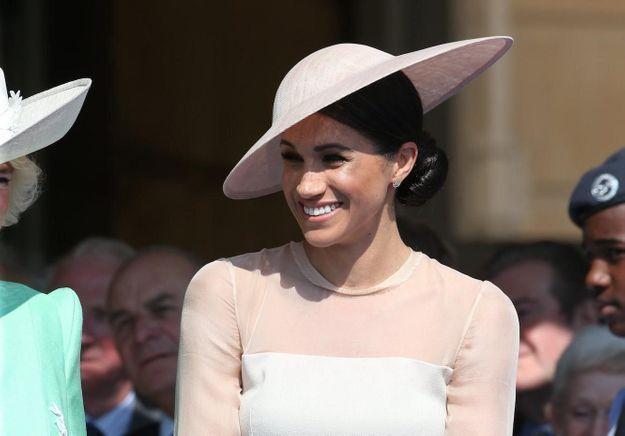Photos - Meghan et Harry : le fou rire de la jeune mariée à l'anniversaire du prince Charles