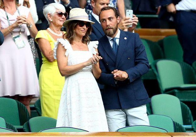 Dans les tribunes de Wimbledon