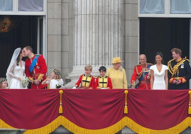 Le balcon de Buckingham