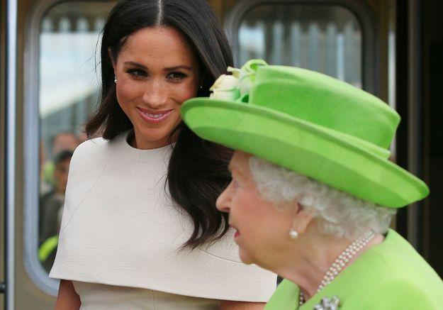 Meghan et la reine