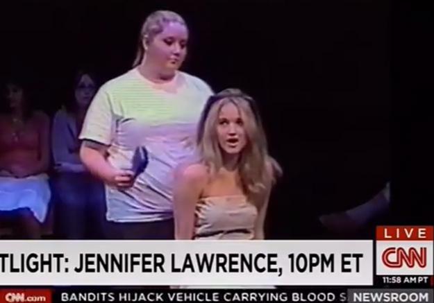 Prêt-à-liker: la vidéo des débuts d'actrice de Jennifer Lawrence