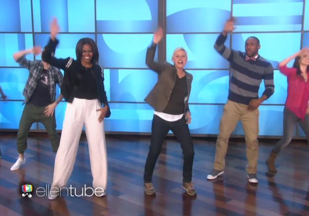#PrêtàLiker : Michelle Obama se déhanche sur « Uptown Funk »