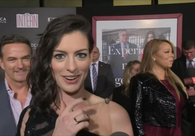 #PrêtàLiker : quand Anne Hathaway rencontre son idole Mariah Carey