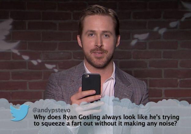 #PrêtàLiker : Ryan Gosling et Hugh Grant lisent des tweets méchants qui leur sont adressés