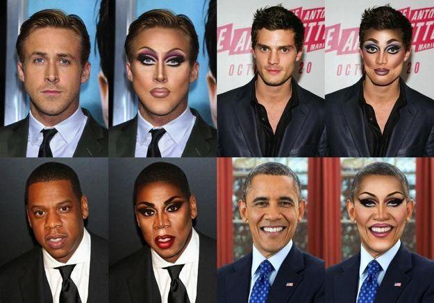 #Prêtàliker : Kanye West et Ryan Gosling en Drag Queen