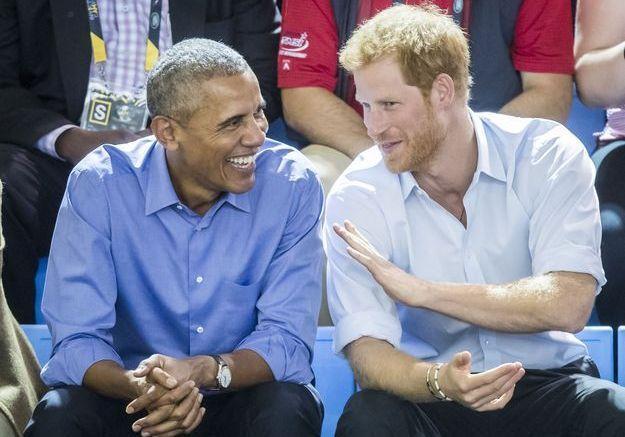 Barack Obama et prince Harry