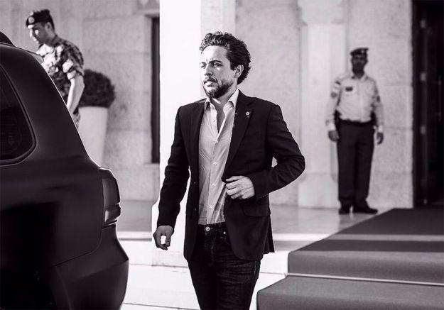 Prince Hussein de Jordanie