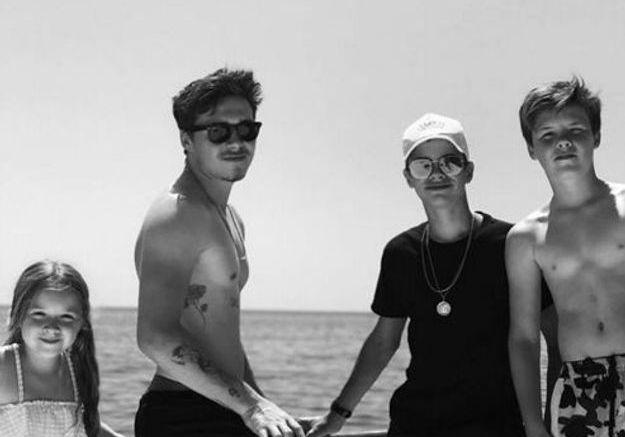 Harper, Brooklyn, Cruz et Roméo Beckham