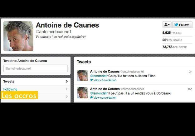 Les Accros Antoine De Caunes
