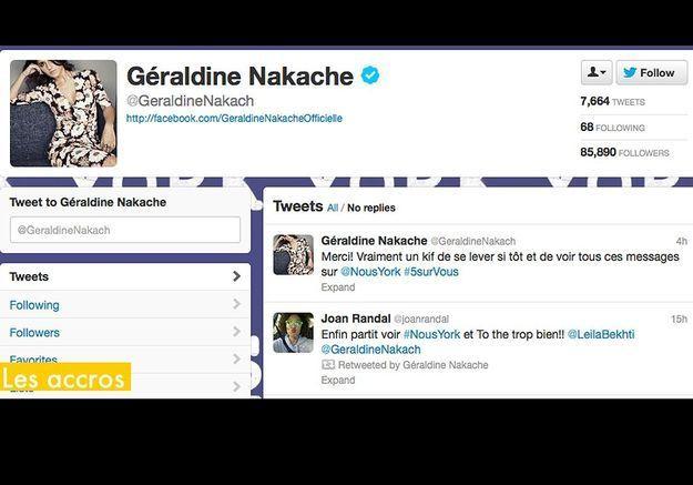 Les Accros Geraldine Nakach