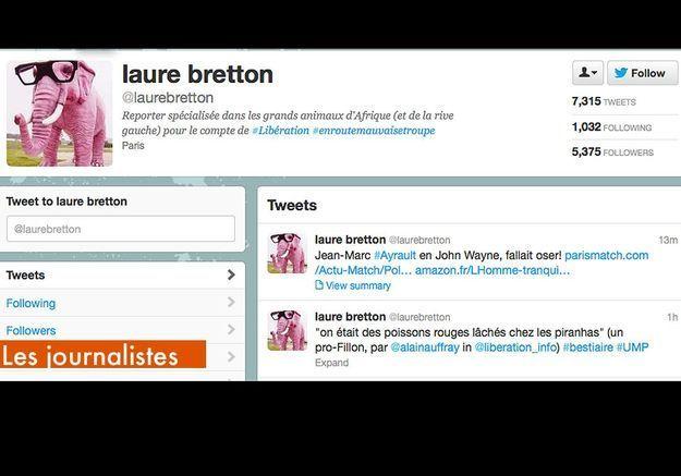 Les Journalistes Laure Bretton