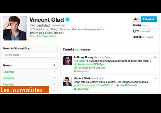 Les Journalistes  Vincent Glad