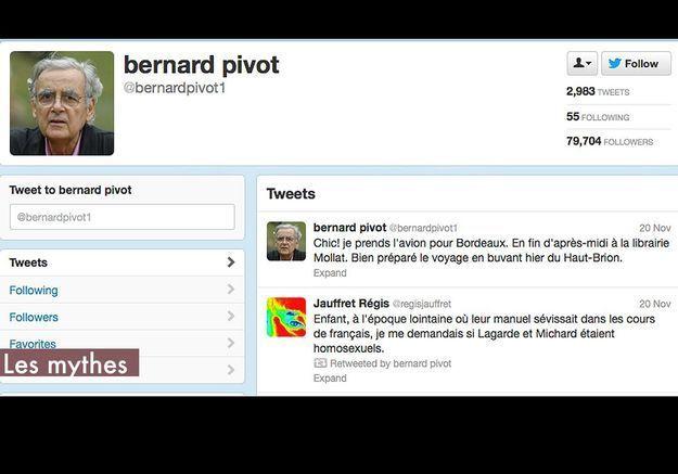 Les Mythes Bernard Pivot