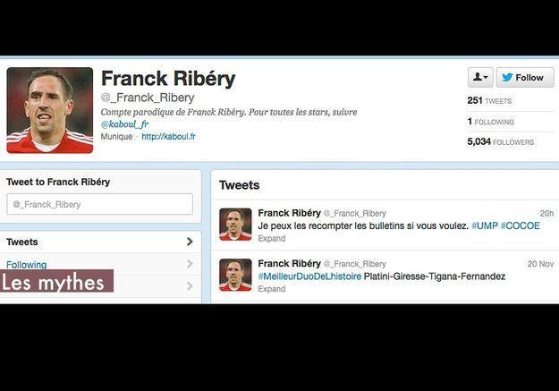 Les Mythes Franck Ribery