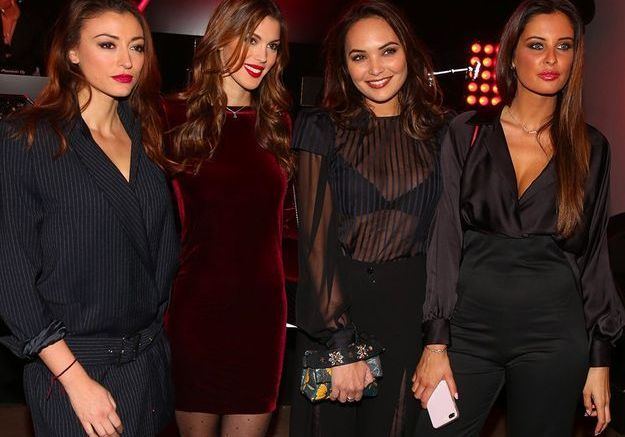 En mars 2018, avec ses amies Miss