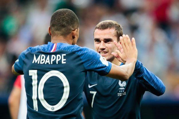 Kylian Mbappé et Antoine Griezmann