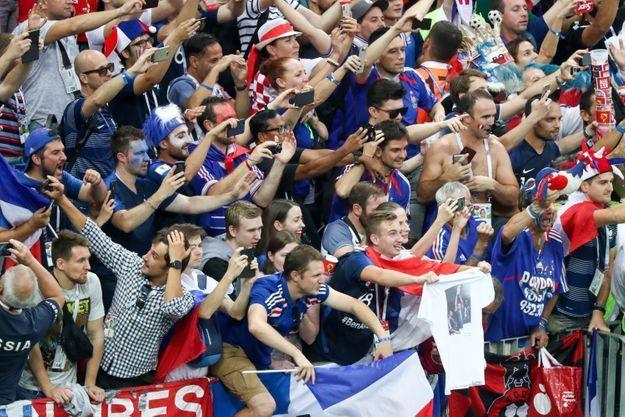 Le bonheur des supporters !