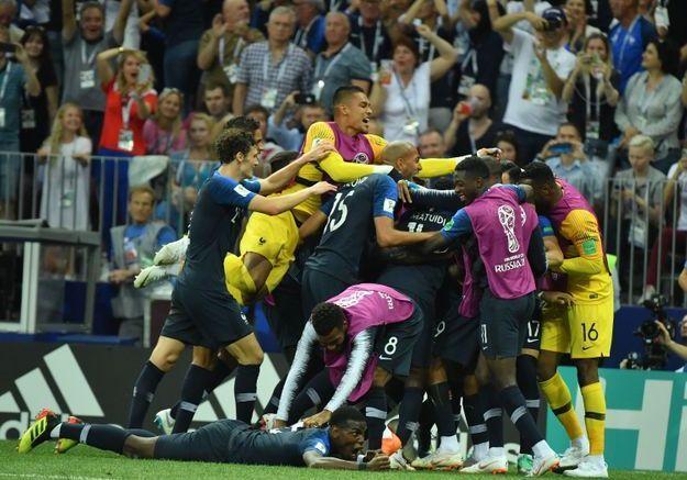 Les Bleus remportent la victoire !
