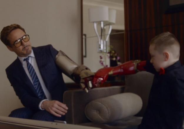Le beau cadeau de Robert Downey Jr. à un enfant handicapé