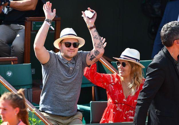 Jeff Panacloc et sa femme Charlotte
