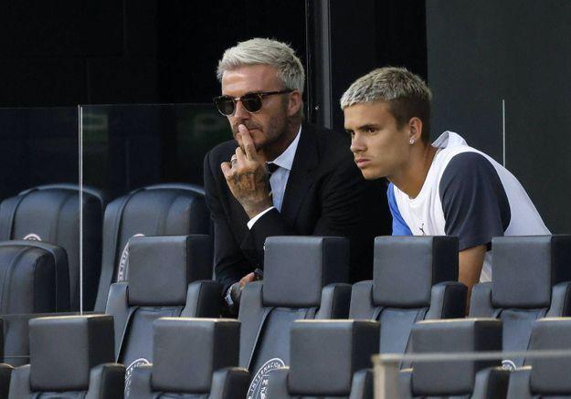 Romeo Beckham sur les traces de son père : il signe dans un club de foot