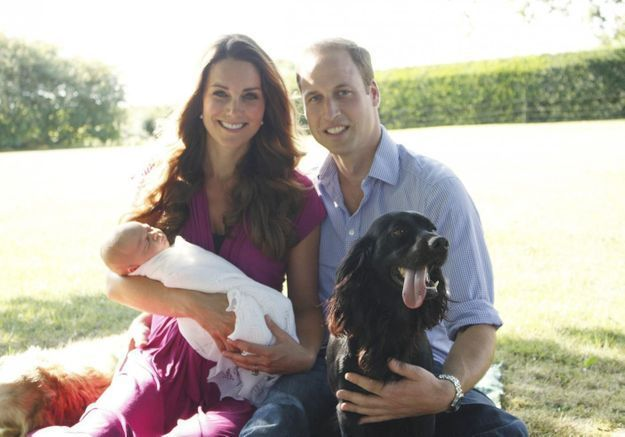 Royal Baby : le grand-père s'improvise photographe officiel