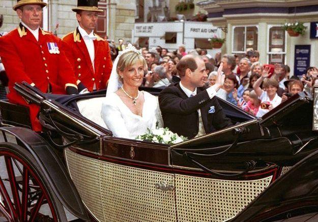 Le mariage du prince Edward et Sophie Rhys Jones