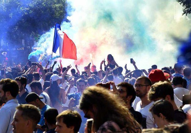 Explosion de joie à Paris !