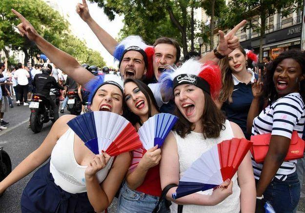La France derrière les Bleus
