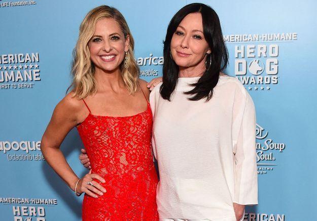 Shannen Doherty face au cancer : l'actrice peut compter sur le soutien de Sarah Michelle Gellar