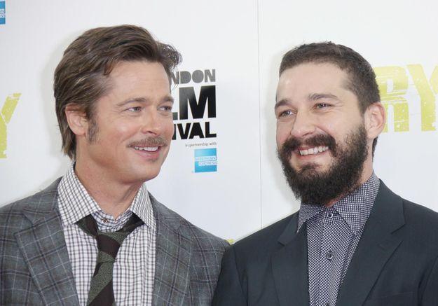 Shia Labeouf : « Brad Pitt est comme mon mari »