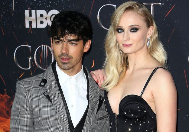 Sophie Turner de « Game of Thrones » et Joe Jonas se sont dit « oui » à Las Vegas