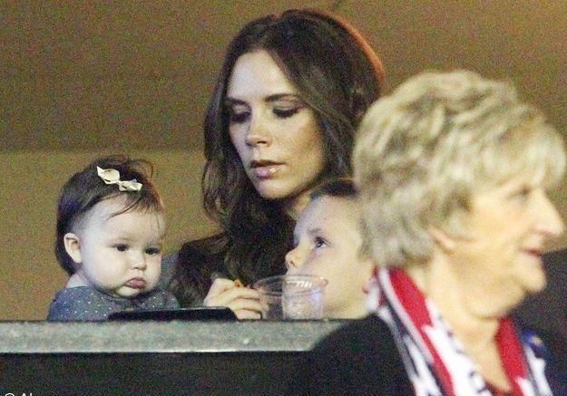 Harper, la fille de David et Victoria Beckham !