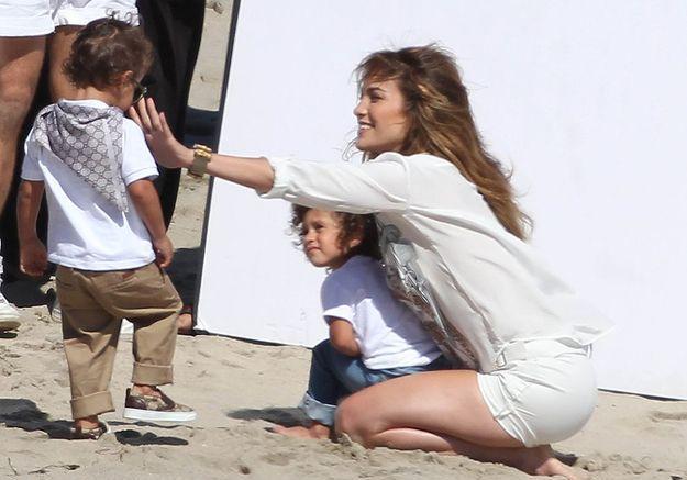 Max et Emme, les jumeaux de Jennifer Lopez et Marc Anthony !