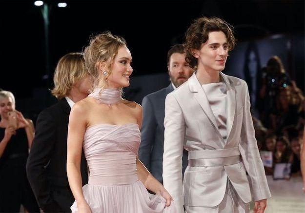 Timothée Chalamet et Lily-Rose Depp : ce baiser qui crée l'effervescence