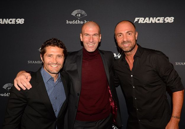 Dugarry, Lizarazu et Zidane