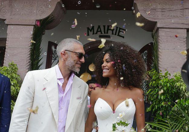 Vincent Cassel et Tina Kunakey  les détails du mariage le plus glamour  de l\u0027