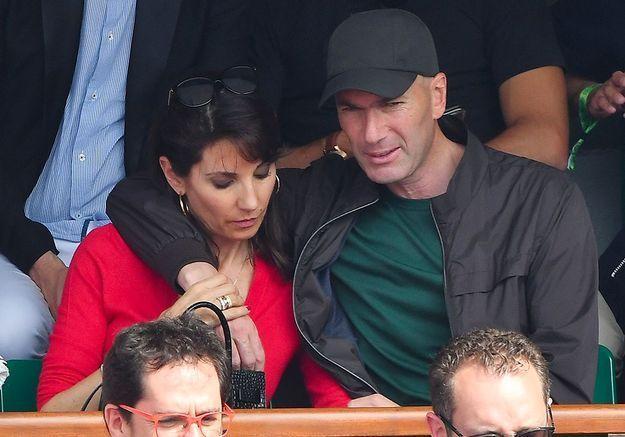 Un couple très proche à Roland-Garros