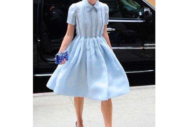 Sa robe de fée Prada