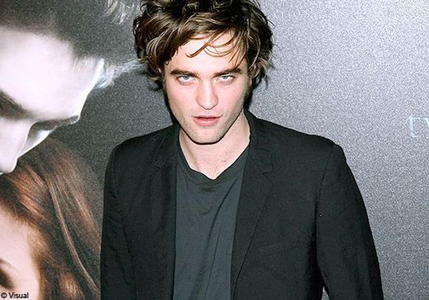 Robert Pattinson, dandy cool