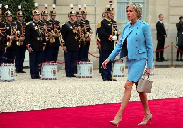 Brigitte Macron à l'Elysée : son style de First Lady
