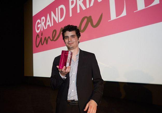 """Damien Chazelle reçoit le Grand Prix Cinéma ELLE pour son film """"Whiplash"""""""