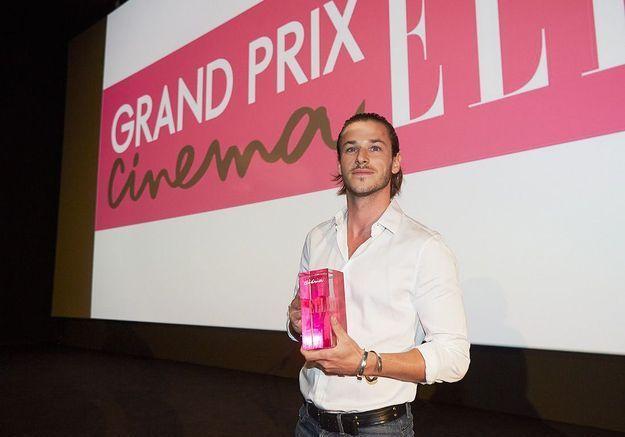 Gaspard Ulliel reçoit le prix du coup de cœur de la rédaction