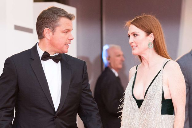 Matt Damon et Julianne Moore