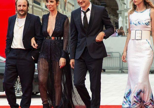 Vincent Macaigne, Nora Hamzawi, Olivier Assayas et Christa Théret
