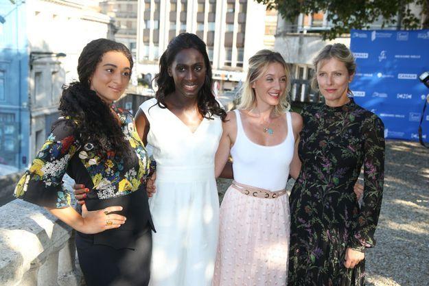 Camélia Jordana, Eye Haïdara, Ludivine Sagnier et Karin Viard