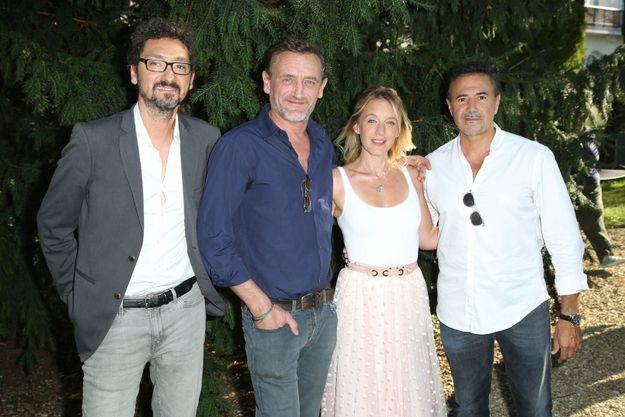 David Foenkinos, Jean-Paul Rouve, Ludivine Sagnier et José Garcia