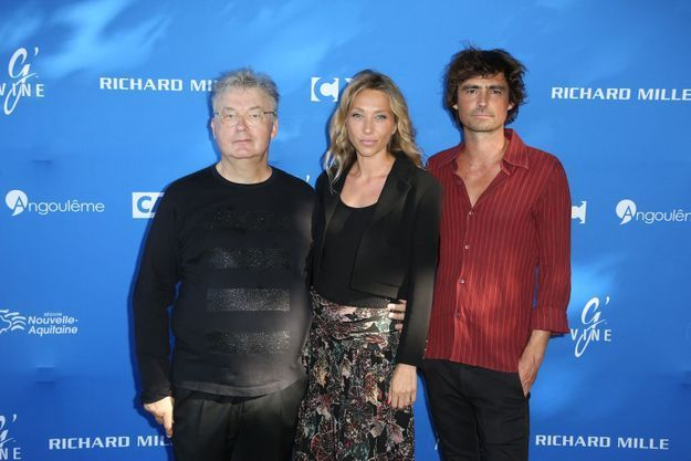 Dominique Besnehard, Laura Smet et Nicolas Herman