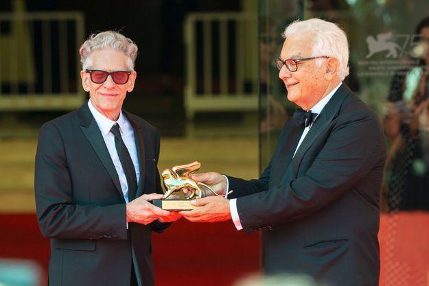 David Cronenberg et son Lion d'Or