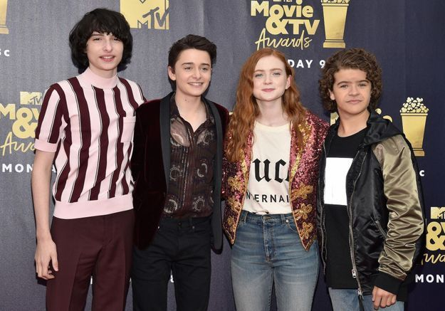 MTV Movie Awards 2018 : les castings de Stranger Things, Riverdale et 13 Reasons Why réunis sur le tapis rouge